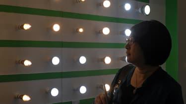 Les inventeurs de la diode électroluminescente (ampoule LED), deux Japonais et un Américain d'origine japonaise ont décroché le prix Nobel de physique 2014. (Photo d'Illustration)