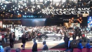 En 2014, 1,25 million de personnes ont visité le Mondial de l'Automobile.