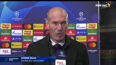 Zinedine Zidane sur RMC Sport
