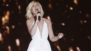 Polina Gagarina, la candidate russe à l'Eurovision 2015.