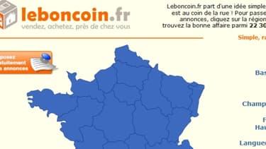 Le site leboncoin.fr connaît une croissance exponentielle, avec un chiffre d'affaires en hausse de 54% en un an.