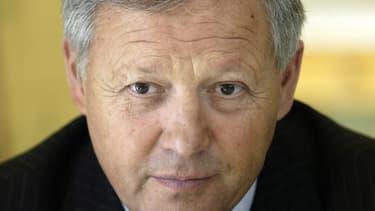 Le chef Georges Blanc en 2005.
