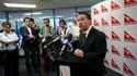Alan Joyce, directeur général de Qantas. La compagnie aérienne australienne estime qu'un problème de conception ou une défaillance d'une partie du moteur serait à l'origine de l'incident qui a contraint l'un de ses A380 à atterrir d'urgence à Singapour je