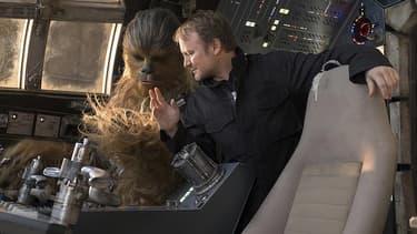 Rian Johnson sur le tournage de Star Wars 8.