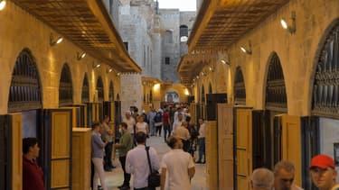 Khan al-Harir, un souk de la vieille ville d'Alep