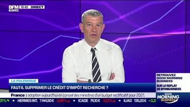 Nicolas Doze : Faut-il supprimer le crédit d'impôt recherche ? - 02/06
