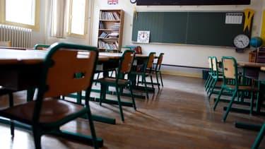 Salle de classe. (illustration)