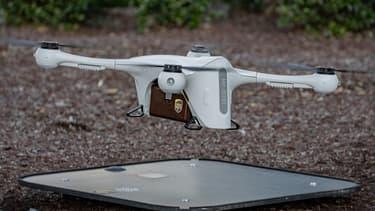 UPS s'est associé en mars avec le constructeur de drones autonomes Matternet pour la livraison de produits médicaux et d'échantillons biologiques en Caroline du Nord