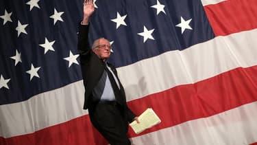 Le candidat à la primaire démocrate Bernie Sanders, le 14 août 2015, dans l'Iowa.