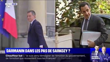 Gérald Darmanin suit-il les pas de Nicolas Sarkozy ?