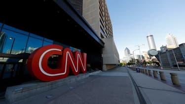 Le siège de CNN à Atlanta en Géorgie. La chaîne a vu ses audiences en prime time chuter de moitié depuis le départ de l'ancien président américain.