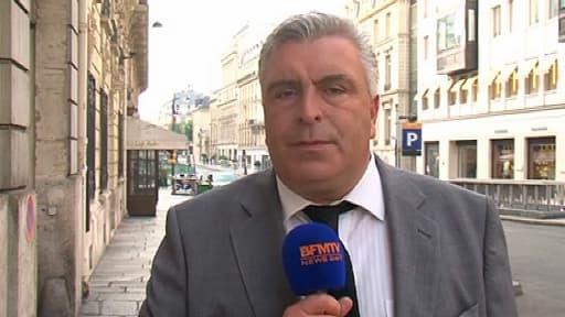 Le ministre des Transports Frédéric Cuvillier, samedi matin.
