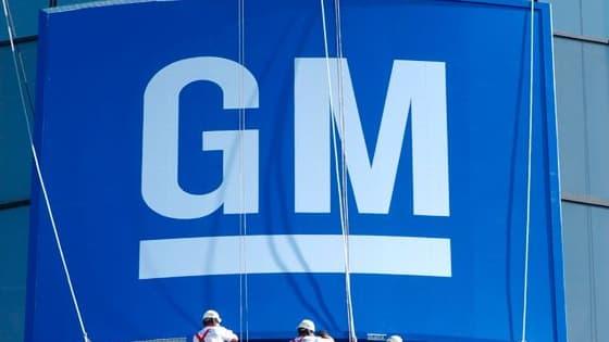 General Motors est devenu leader mondial du secteur l'année dernière.