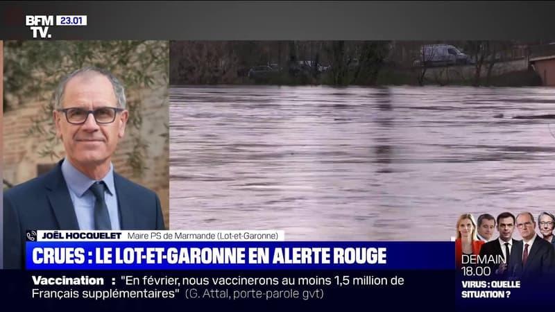 Joël Hocquelet, maire de Marmande: