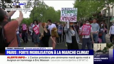 Marche pour le climat: des milliers de personnes défilent à Paris