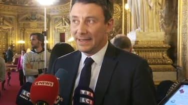 Benjamin Griveaux au Sénat.