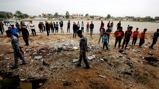 Un attentat a fait 32 morts sur un terrain de foot, en Irak