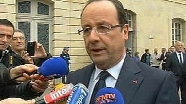 François Hollande a évoqué les blocages administratifs lors de son déplacement à Dijon, mardi 12 mars