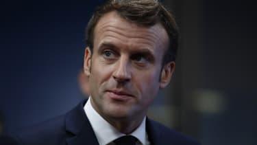 Emmanuel Macron, le 13 décembre 2019, à Bruxelles.