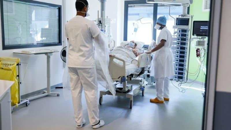 l'Ile-de-France passe à 1000 patients en soins critiques, une première depuis le 8 mars