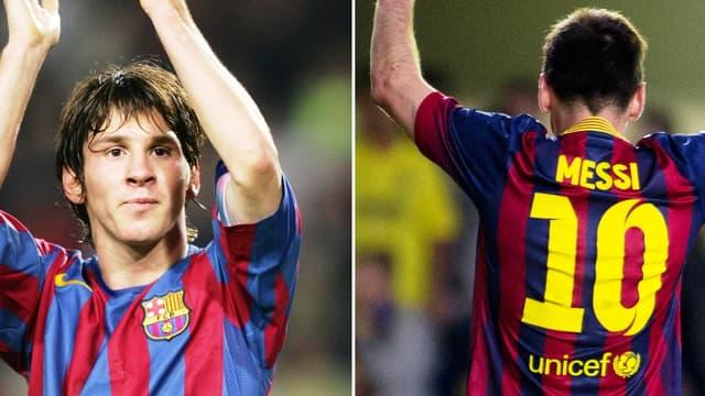 Leo Messi, 10 ans déjà.