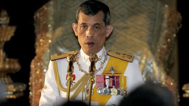 Le prince de Thaïlande Maha Vajiralongkorn, le 21 janvier 2008.