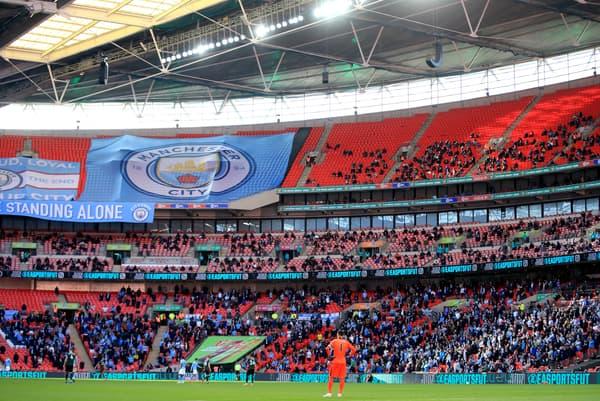 8 000 supporters étaient présents lors de la finale de Carabao Cup entre Manchester City et Tottenham (1-0).