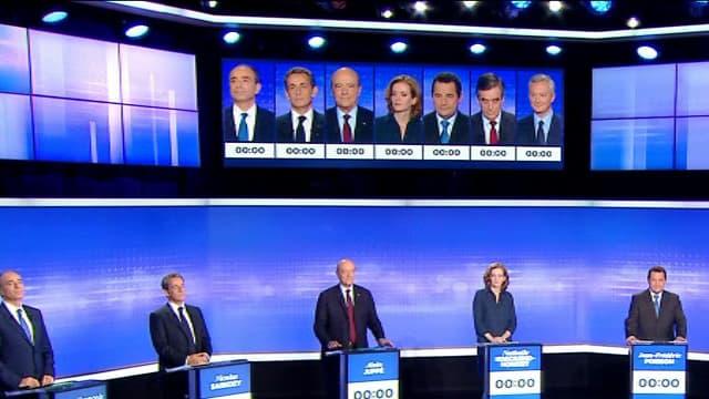 Le dernier débat de la primaire à droite.