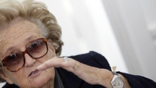 Bernadette Chirac, qui se bat pour conserver son canton, est aussi en course pour les municipales.