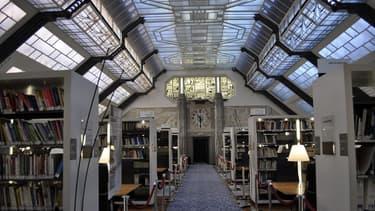 La bibliothèque du ministère des Affaires sociales, de la Santé et des Droits des femmes.