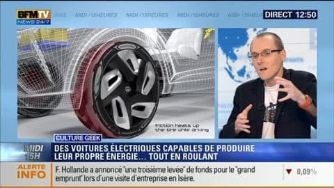 Et si demain les voitures électriques produisaient leur propre énergie en roulant ?
