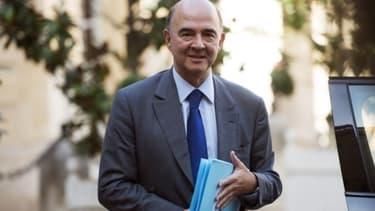 Pierre Moscovici a minimisé les conséquences de la dégradation de la note de la France par S&P.