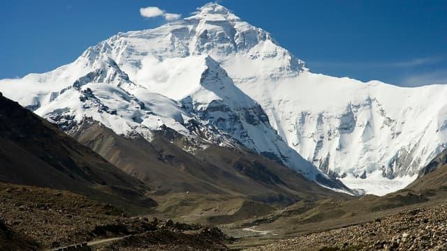 La face nord du mont Everest