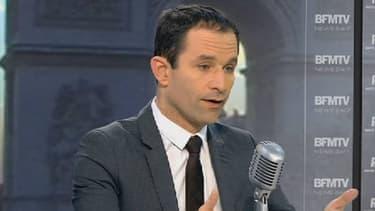 Benoît Hamon était l'invité de BFMTV et RMC ce 17 décembre