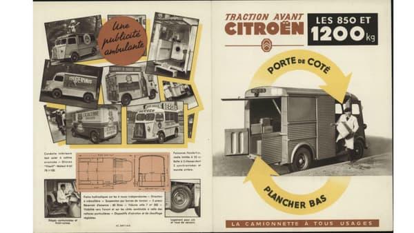 Une brochure commerciale pour le Type H (1951)