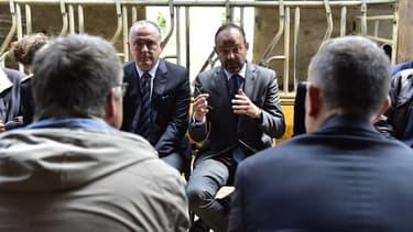 Didier Guillaume et Édouard Philippe