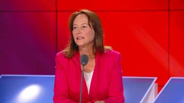 """L'ancienne ministre Ségolène Royal invitée des """"Grandes gueules"""" de RMC, le 8 juillet 2020."""
