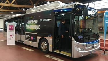 Des bus électriques de la marque chinoise Yutong vont être fabriqués en France dans les ateliers de Dietrich Carebus Group. (image d'illustration)