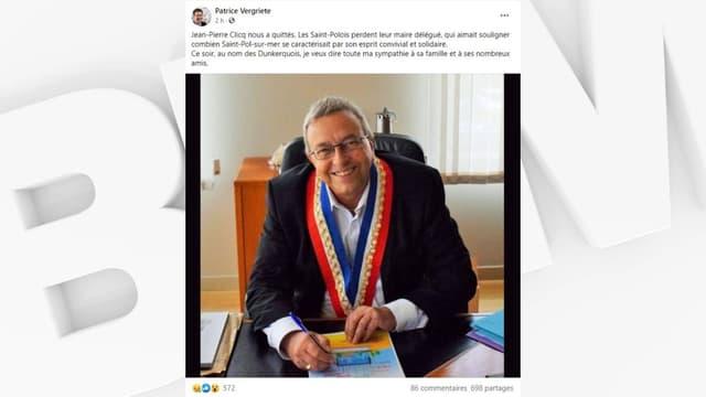 Le maire délégué de Saint-Pol-sur-Mer est mort à 71 ans