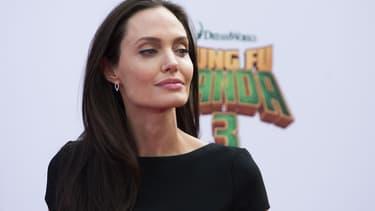 Angelina Jolie en janvier 2016 à Los Angeles.