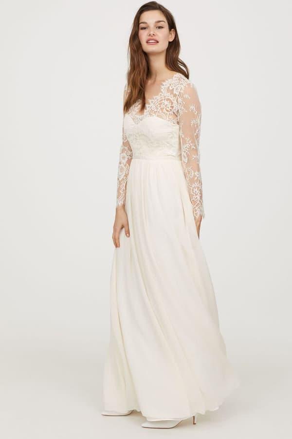 Une robe de mariée H&M