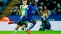 N'Golo Kanté sous le maillot de Leicester