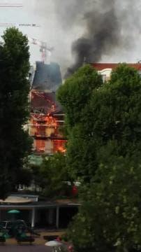 Violent incendie à Levallois-Perret - Témoins BFMTV