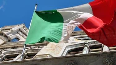 Le drapeau italien, à Rome