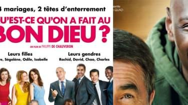 Le trio de tête des films les plus loués en VOD en France.