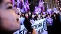 Des milliers de femmes sont descendues dans les rues de Turquie le week-end dernier.