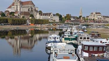 Le port d'Auxerre