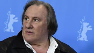 Gérard Depardieu, le 19 février 2016 -
