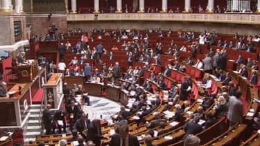 L'hémicycle de l'Assemblée nationale