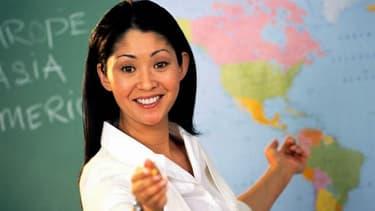 Les métiers liés à l'enseignement sont plutôt bien représentés